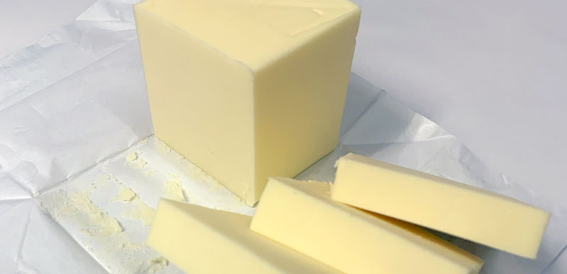 美味しい焼き菓子とするためのバター